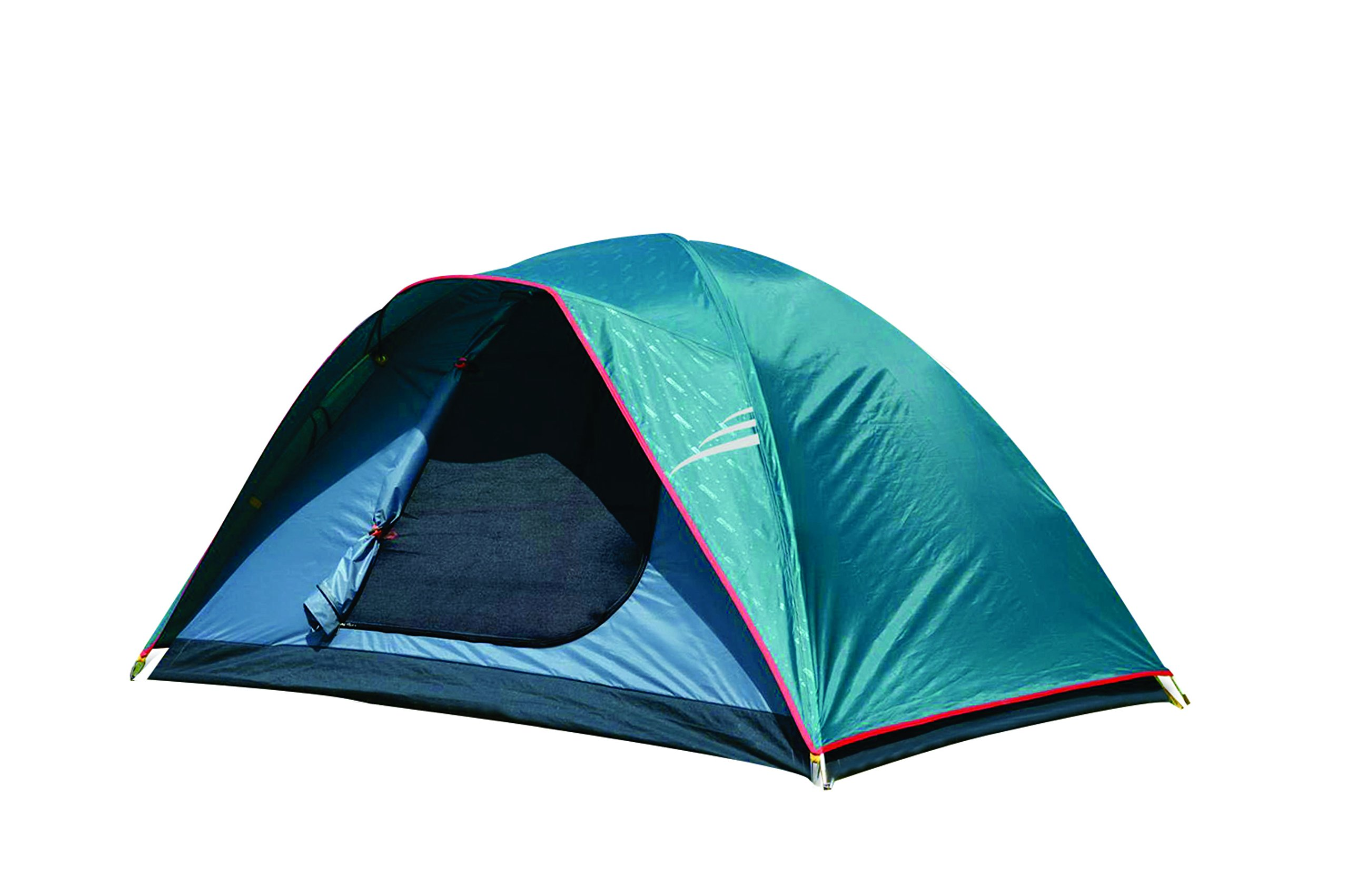 NTK Oregon GT 8 to 9 Person 10 by 12 Foot Outdoor Dome Family Camping Tent 100% Waterproof 2500mm, Easy Assembly, Durable Fabric Full Coverage Rainfly - Micro Mosquito Mesh for Maximum Comfort.