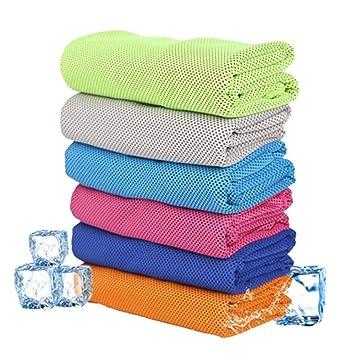 Toalla de refrigeración, toalla de hielo, toalla de frío fría, toalla de refrigeración