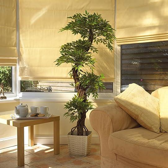 Large Artificial Japanese Fruticosa Tree, Luxury Stylish Handmade ...