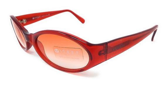 Vogue Damen Sonnenbrille Rot RotTransparent 54