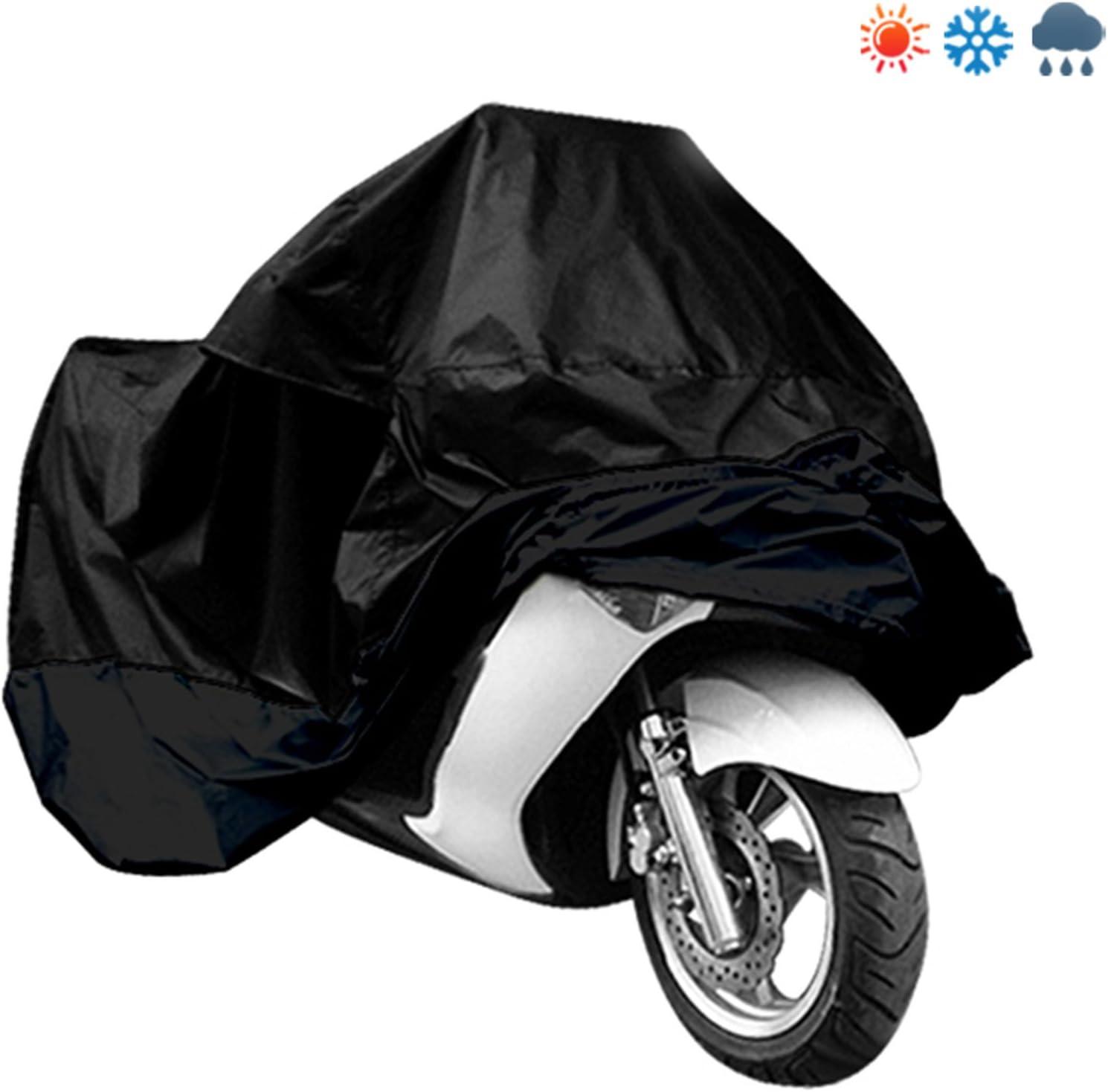 Vadooll Motorradhuelle Schuetzt Vor Regen Staub Sonne Mehrfarbig Ersatz Auto