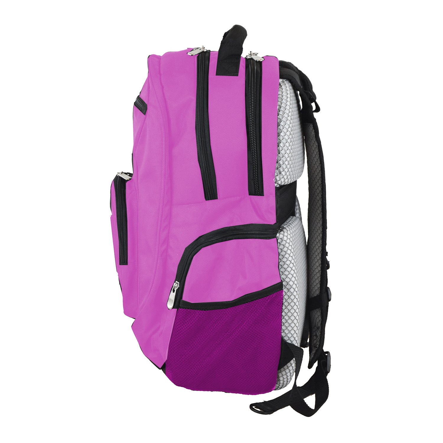 NBA Boston Celtics Voyager Laptop Backpack, 19-inches, Pink by Denco (Image #3)