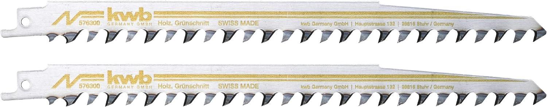 KWB 5763-00 S/äbels/ägebl/ätter Brennholz trocken Hart-//Weichholz Bauholz Holzbearbeitung
