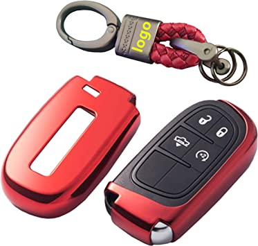Chrysler Dodge Key Fob Keyless Entry Remote Protective Cover Case Fits Jeep