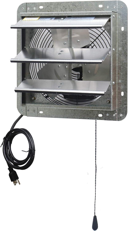 Iliving ILG8SF12V 12 inches Variable Speed Shutter Fan