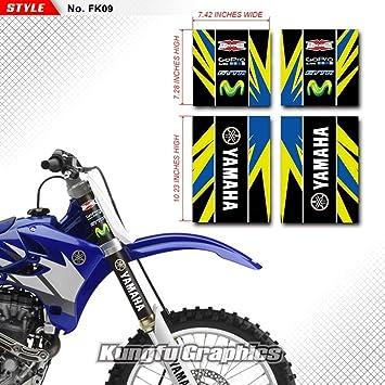 Motocross Honda KTM Yamaha KYB Suspension Upper Fork Decals Stickers Graphics