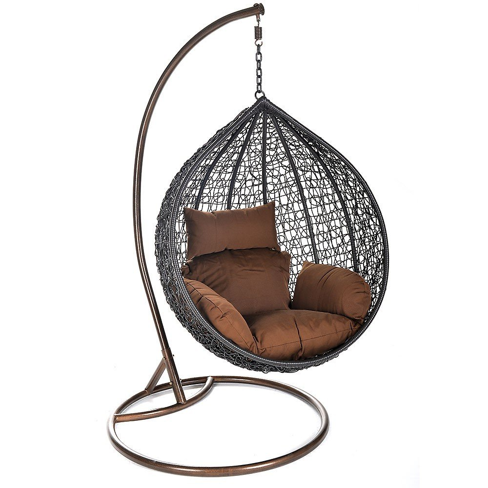 Home Deluxe Polyrattan Hängesessel Cielo
