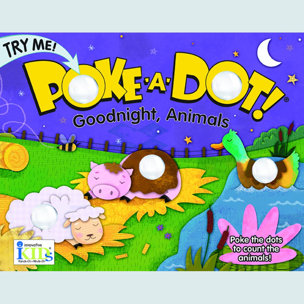 Poke A Dot Goodnight, Animals Book With Pop-A-Tronic Technology ebook
