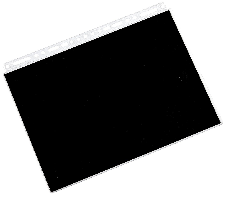 PANODIA P020501 Transparente (10 Unidades) de Color Negro de Fondo para fotografía de Dibujo de Pelota de hasta 21 x 29,7 cm