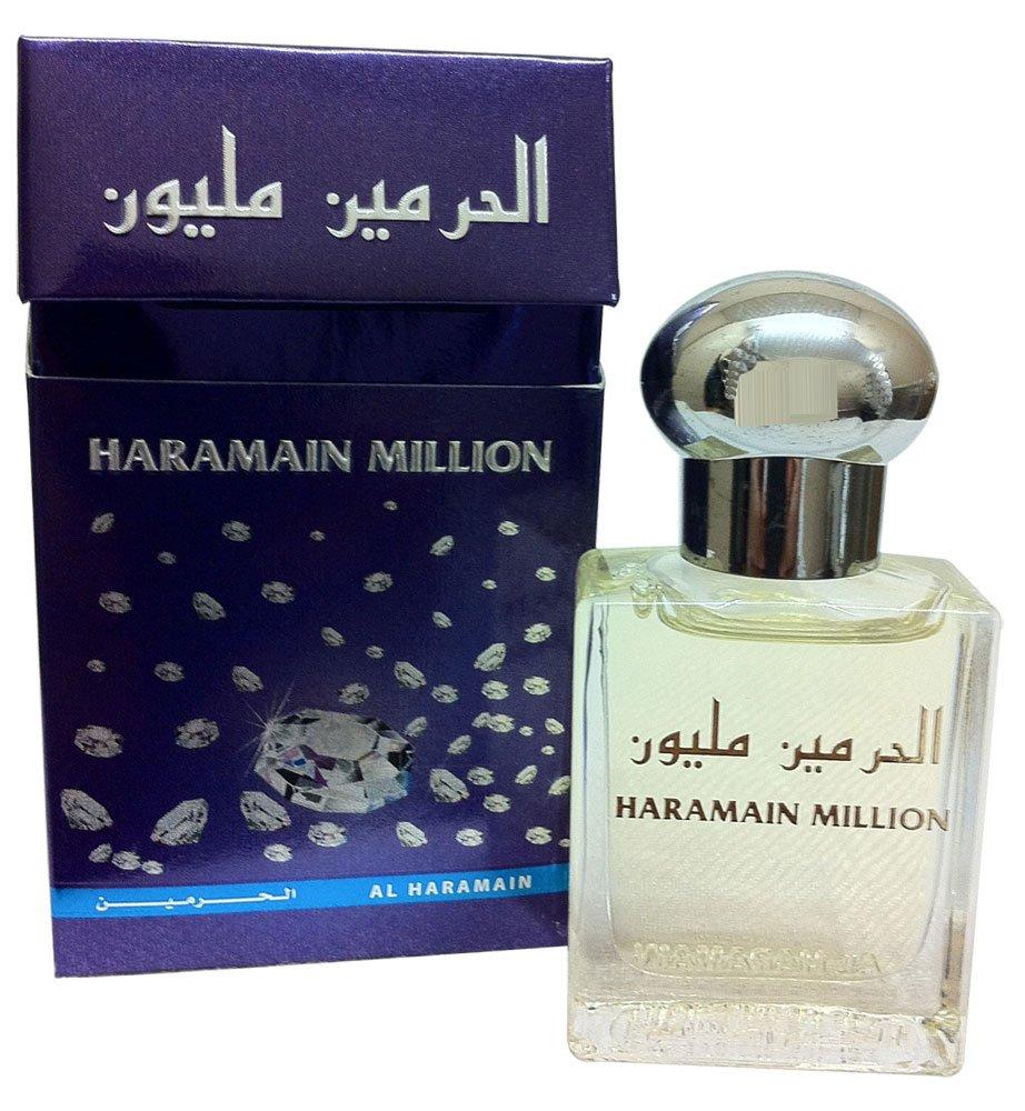 Essenza di fiori Haramain milioni olio profumato 15ml con miscela di lavanda, Ylang Ylang e muschio bianco Al Haramain