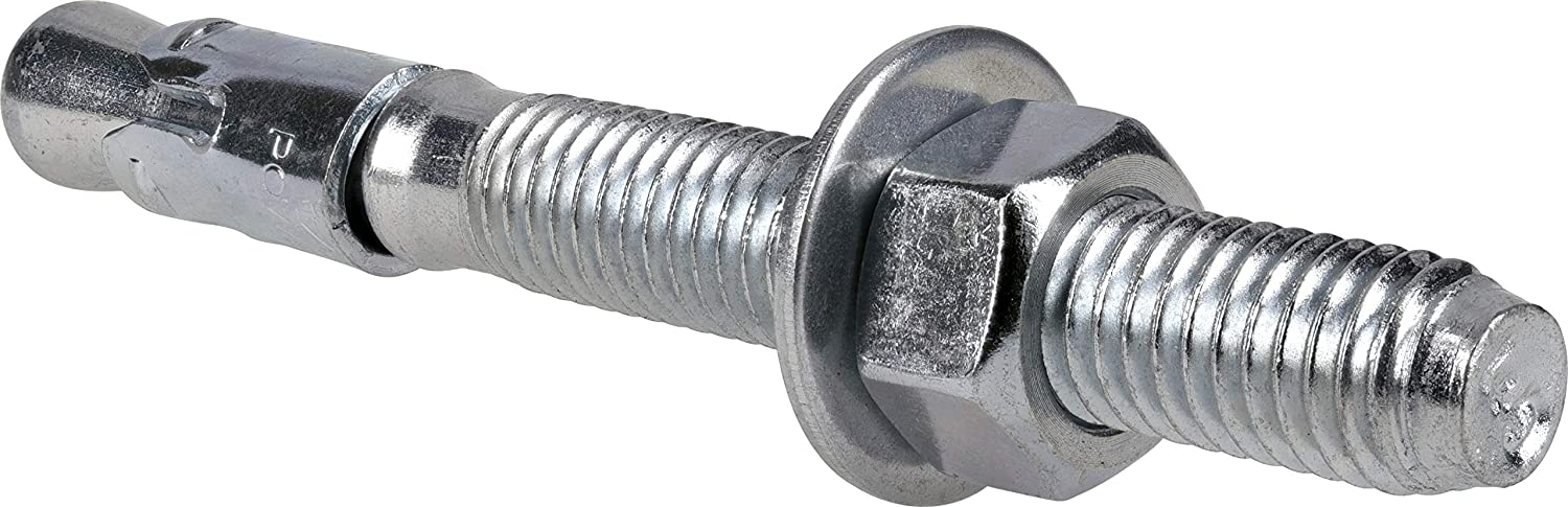 The Hillman Group 371940 Wedge Anchor 1//2 X 4-1//2-Inch 25-Pack