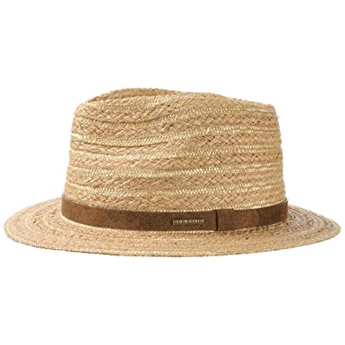 2ba171105ed90 Soledad Raffia Traveller Hat Stetson traveller summer hat (XXL 62-63 -  nature)  Amazon.co.uk  Clothing