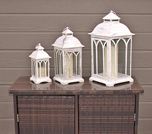 Indoor or Outdoor All Weather Candle Lanterns