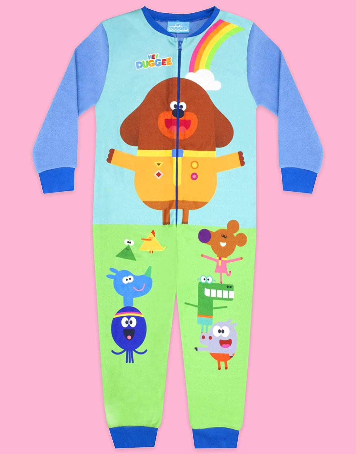 Official Licensed Hey Duggee Boys Low Top Slippers Green Easy Fit Various Sizes