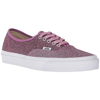 770c7cb288 Vans Authentic Lurex Glitter Trainers Pink  Amazon.co.uk  Shoes   Bags
