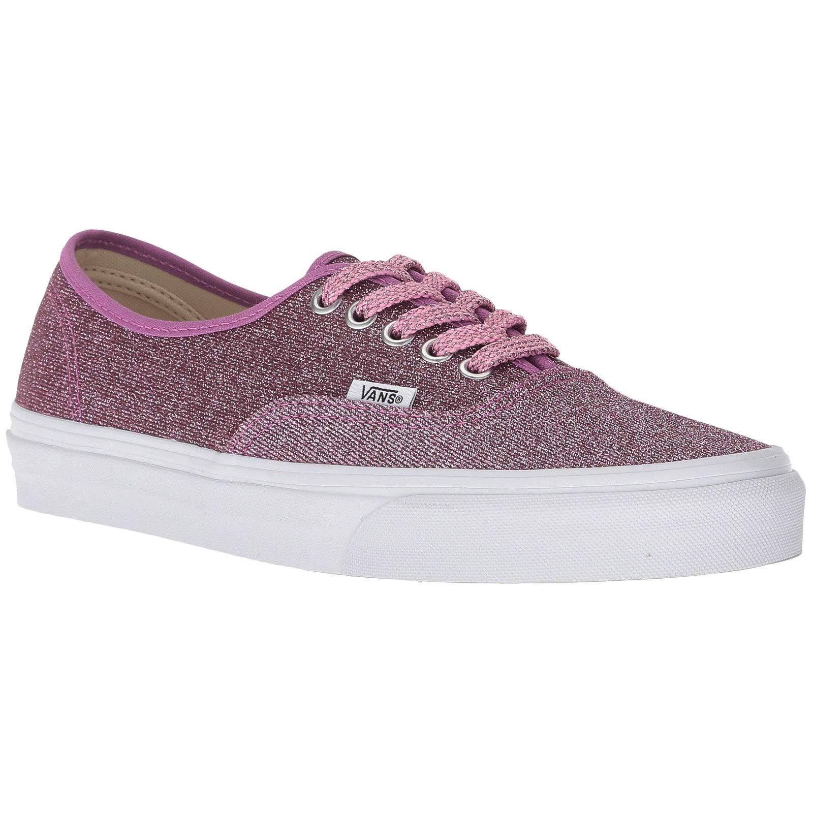 Vans Unisex Authentic Lurex Glitter Textile Pink