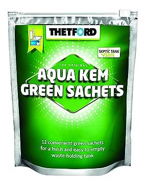 Thetford Sanitaria líquido Aqua KEM, Verde, One Size, 30531