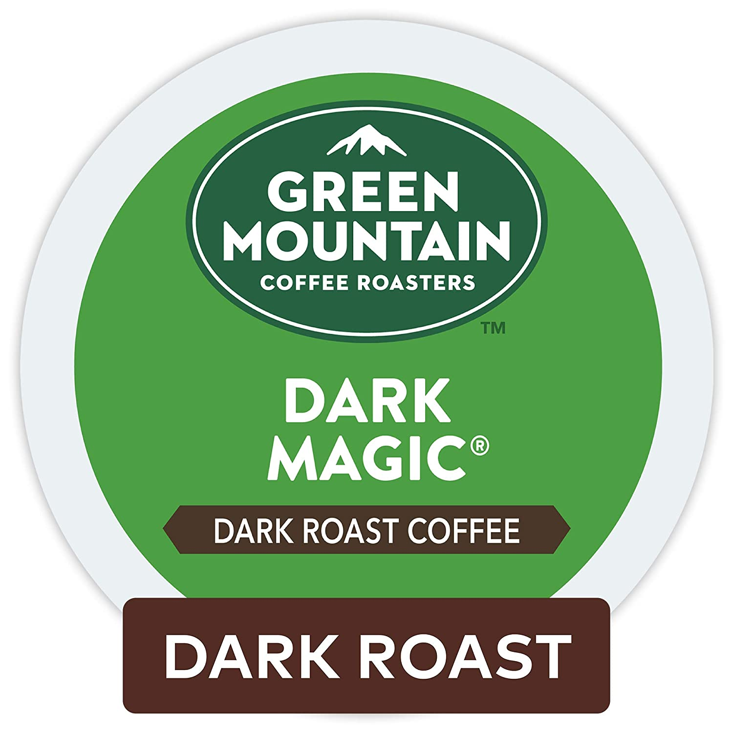Green Mountain Coffee Dark Magic Keurig Single-Serve Dark Roast Coffee K-Cup Pods, 32 Count