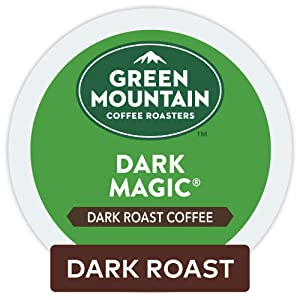 Green Mountain Coffee Roasters Dark Magic, Single Serve Coffee K-Cup Pod, Dark Roast, 32