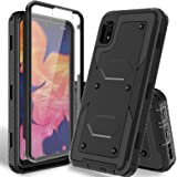 HATOSHI Samsung Galaxy A10e Case with Built-in Screen Protector Not Fit A10 Heavy Duty Protection Armor Shockproof Rubber Bum
