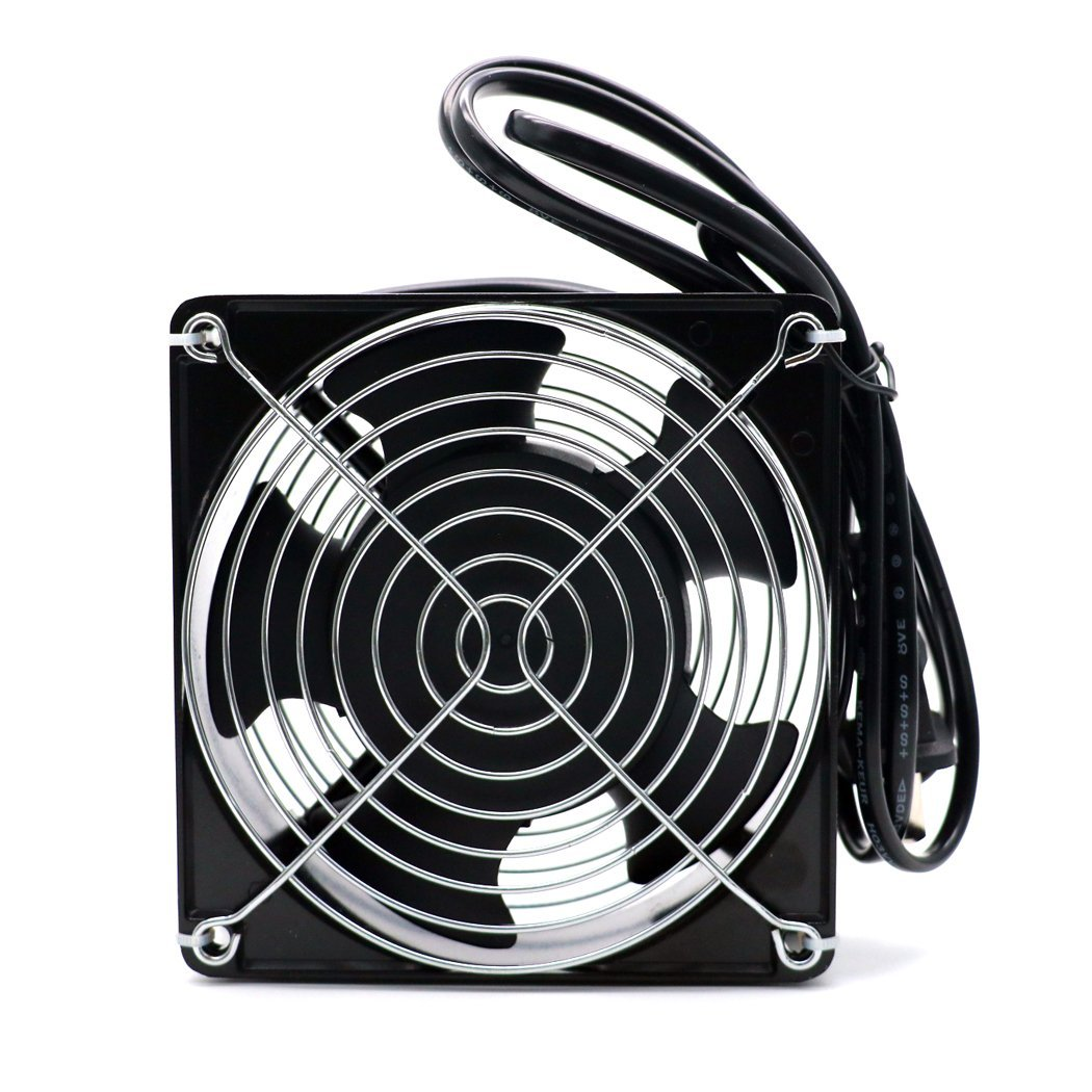 Solder Fume Extractor Absorber Smoke Exhaust Table Fan For DIY Ventilation Exhaust Projects