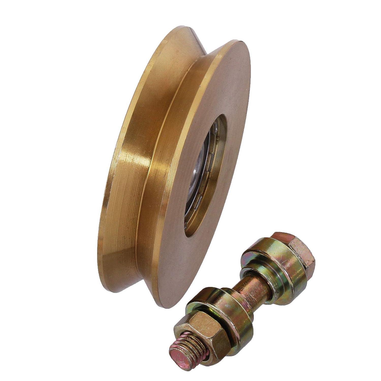 Hochlast Torrolle in 10 Gr/ö/ßen von 40-140mm ausw/ählbar 50mm