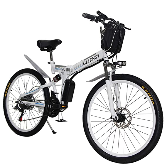 Cliensy 26 Inch Best Folding Electric Bike Under 1000