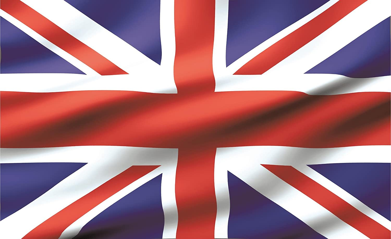 Amazon ユニオンジャックイギリス国旗壁紙壁画 Xx Large 312