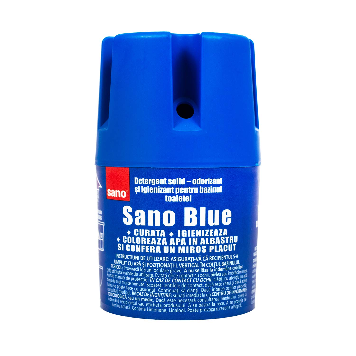 Sano Blue Water Toilet Bowl Cleaner Long Lasting Air Freshener WC Tablet Pack of 4