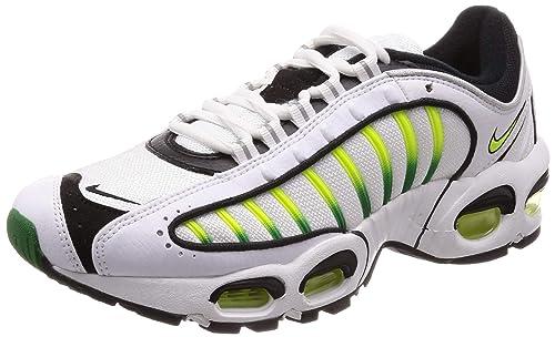 100% high quality fashion shades of Nike Air Max Tailwind IV Mens Shoes White/Volt/Black/Aloe Verde aq2567-100
