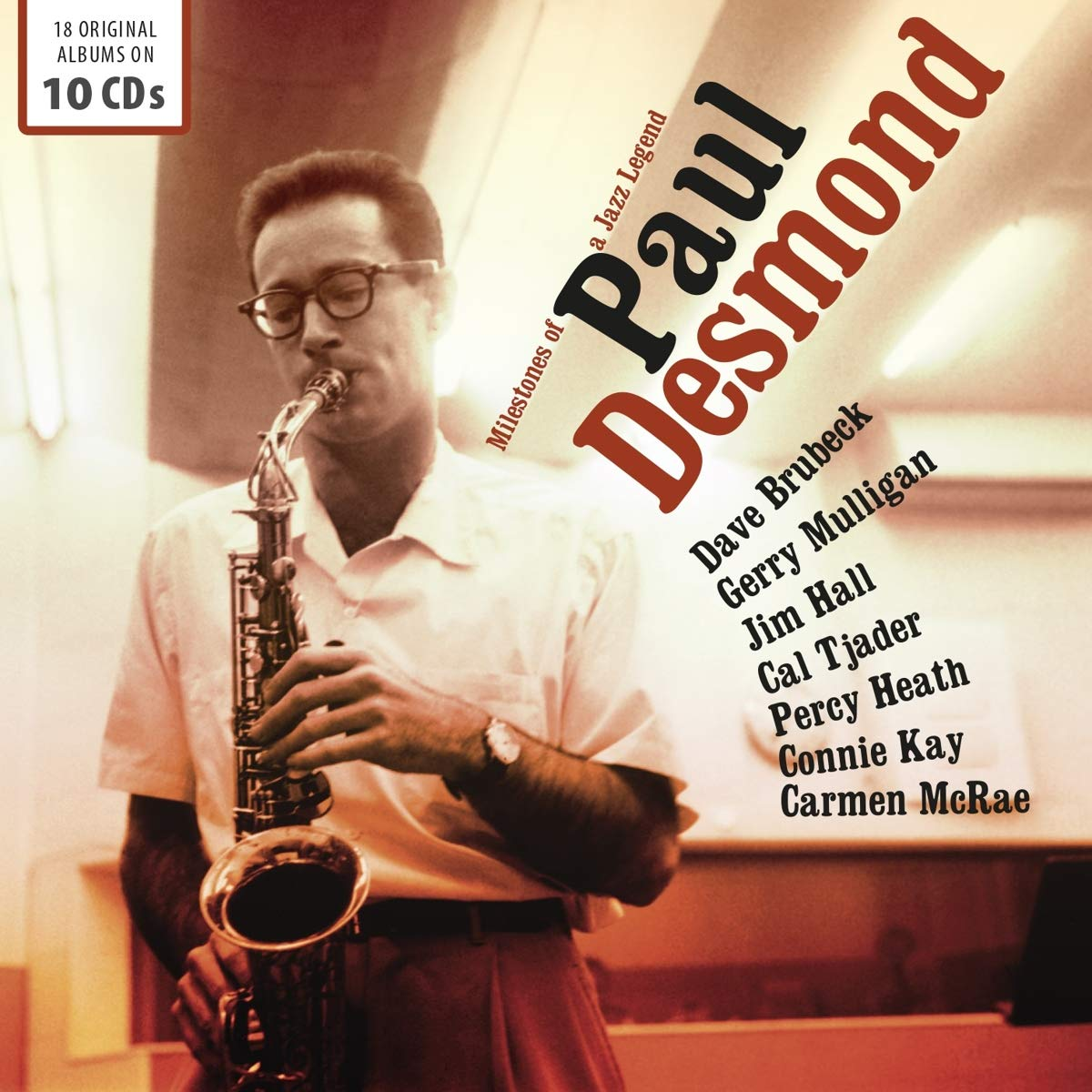 Milestones Of A Jazz Legend - Box 10cd: Desmond Paul, -: Amazon.es: Música