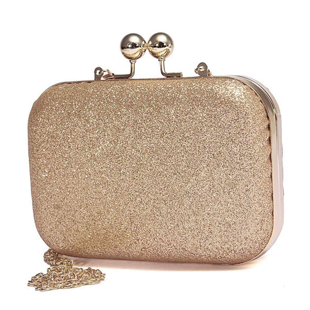 Belegend Women Evening Bag Glittered Clutch Wallet Wedding Purse Party Banquet Shoulder Messenger Bags