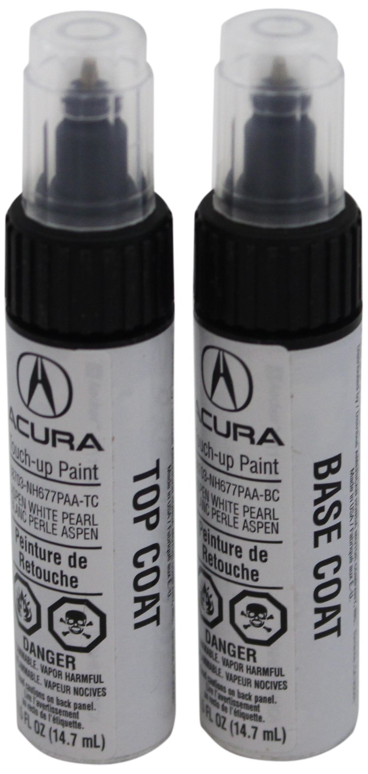 Acura Genuine Accessories 08703-NH677PAA-2P Aspen White Pearl Touch-Up Paint Pen - 0.5 fl. oz.