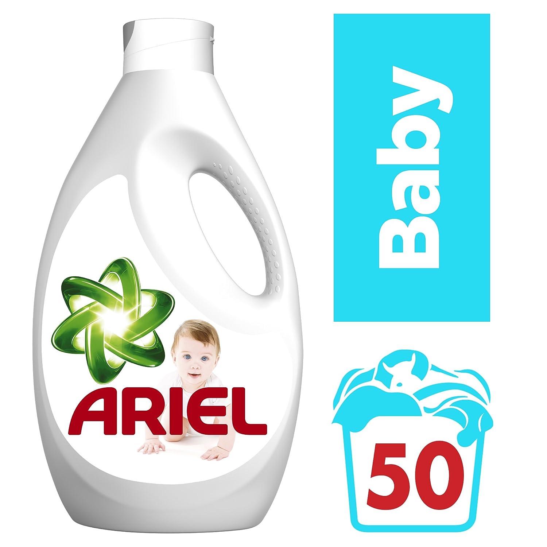 Ariel Baby Detergente L Quido Para Lavadora 50 Lavados 3 25 L  ~ Mejor Detergente Lavadora Calidad Precio
