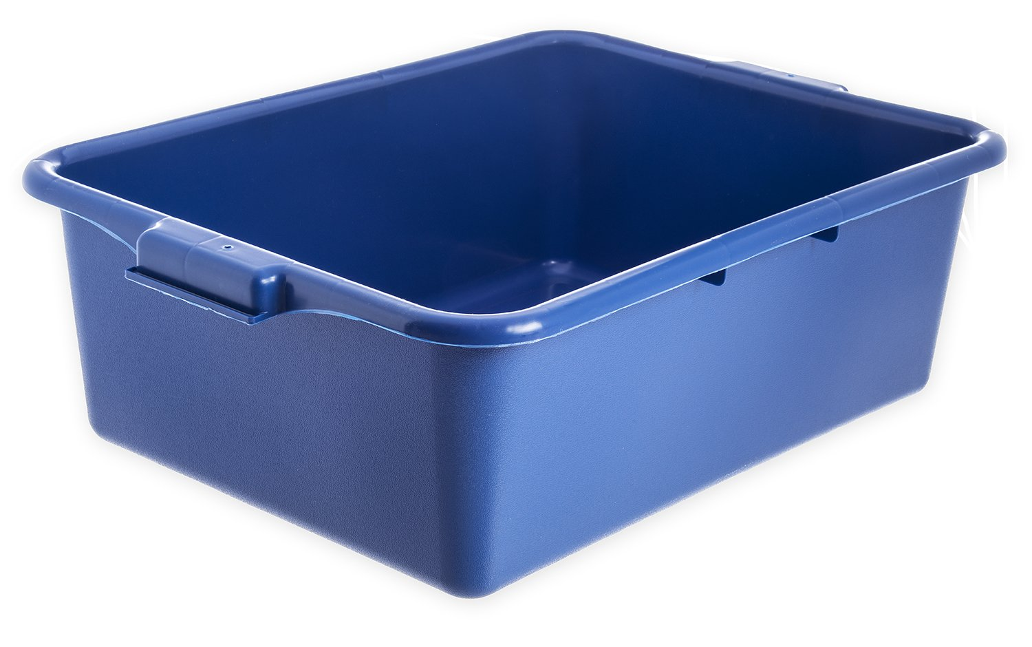 Carlisle N4401114 Comfort Curve Bus Box/Tote Box, 7'' High, Blue - 1 Each