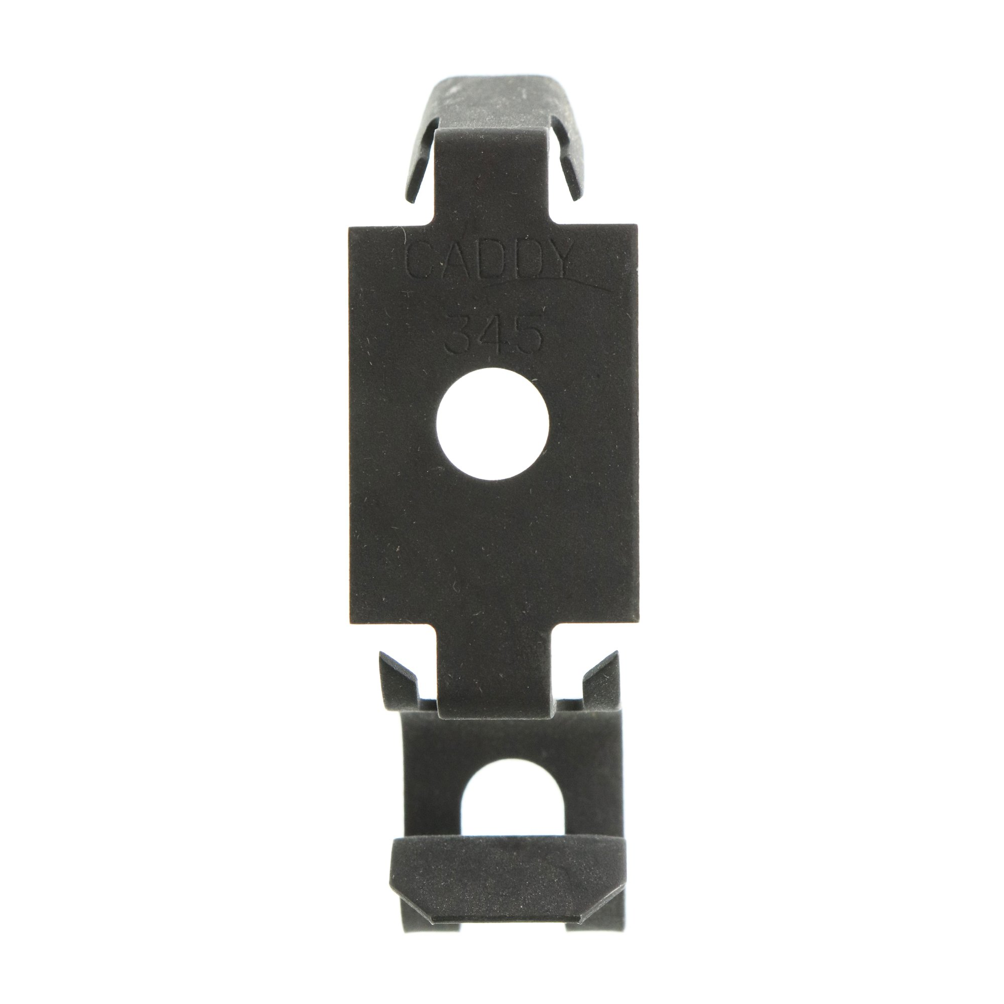 Erico Caddy 345 MC, AC, or BX to Metal or Wood Stud Cable Clip, (100-Pack)