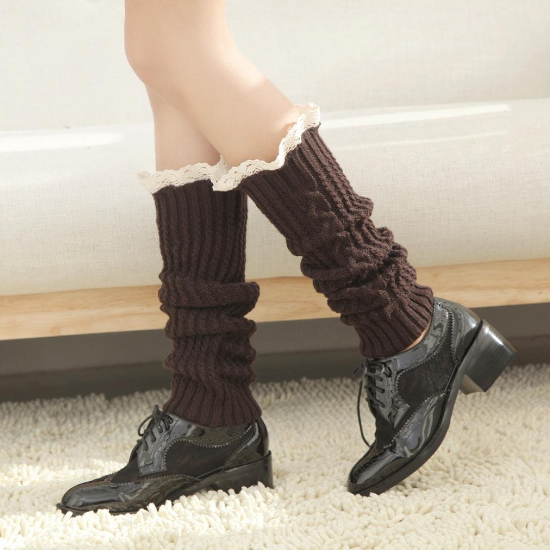 Women Leggings,Sunfei Women Winter Knitted Over knee Long Boot Thigh-High Warm Socks