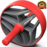 Epitomie Fitness BIO Core Ab Roller Wheel with 2 Configurable Wheels and Non-Slip Handles – Ab Wheel Trainer with…