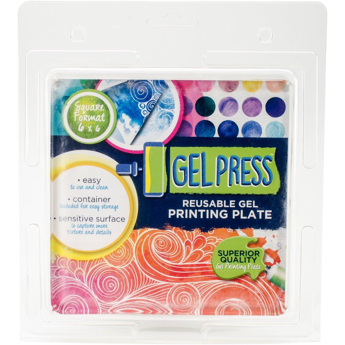 Gel Press 10800 Gel Plate 6''X6'' by Gel Press
