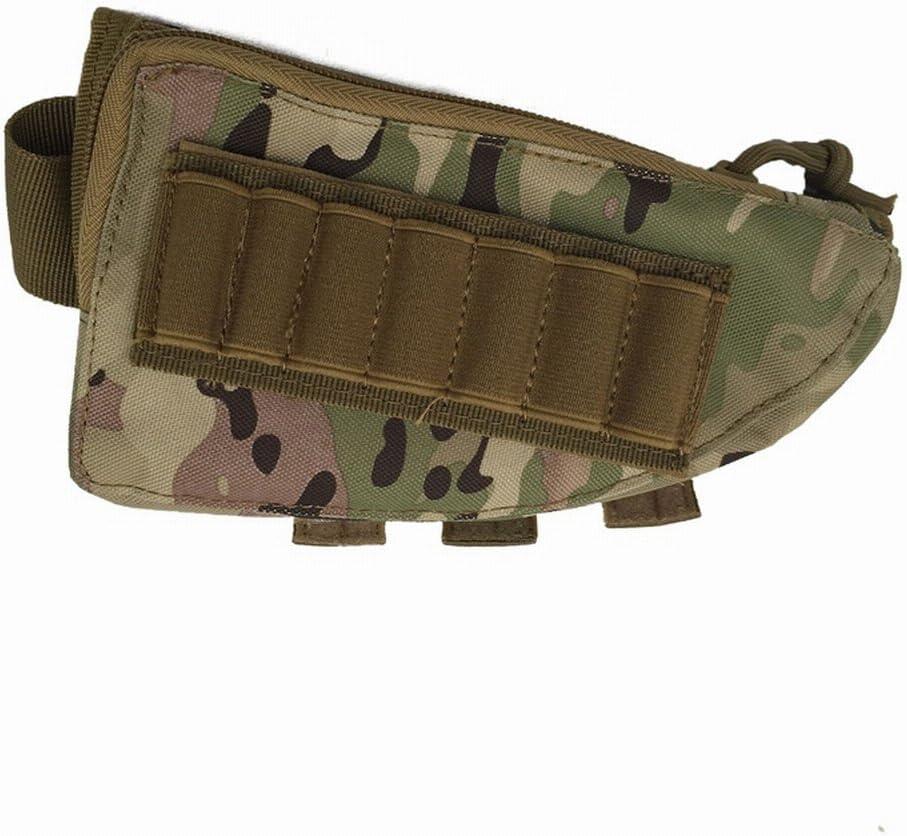 Support de munitions pour Crosse de Joue et Pochette Utilitaire zipp/ée Oarea Rifle Stock Pack