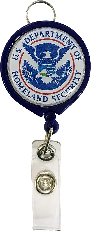 Department of Homeland Security Retractable Badge Holder U.S