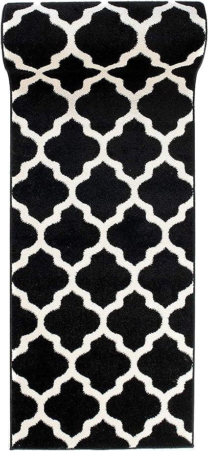 Treillis Gris tapis de couloir moderne marocaine Hall Runner Petit Grand Salon Tapis