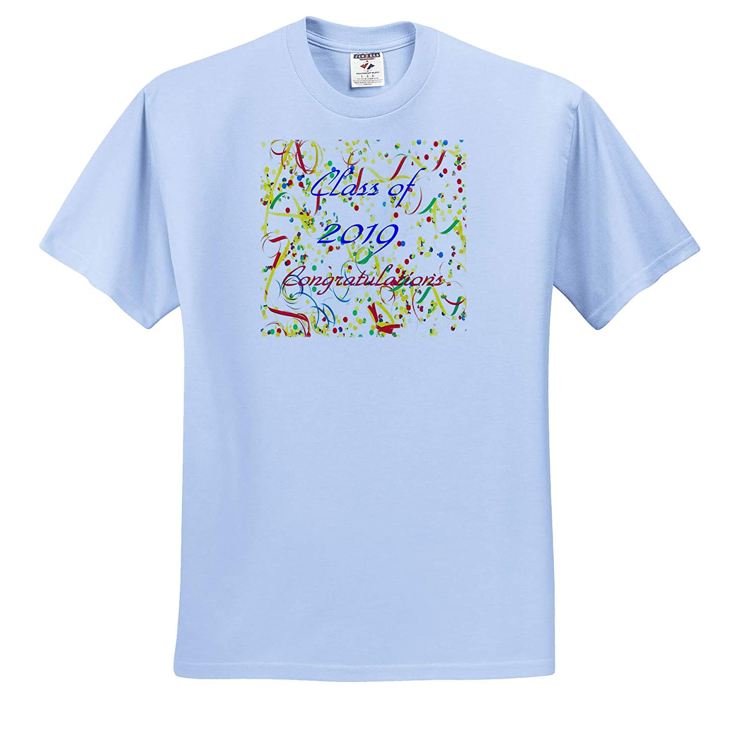 - Adult T-Shirt XL ts/_319049 3dRose Stamp City Macro Photograph of a White Bachelors Button Flower in Bloom Flowers