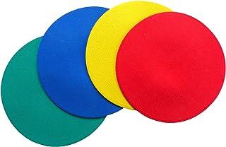STOP! Fitness Floormarker Spots und farbige Bodenmarkierungen (4 Stück)