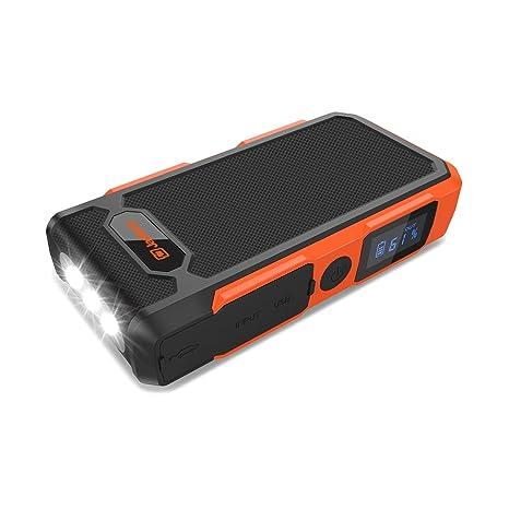 [nueva versión] Jackery Spark coche Jump Starter 18000 mAh batería de coche, 12