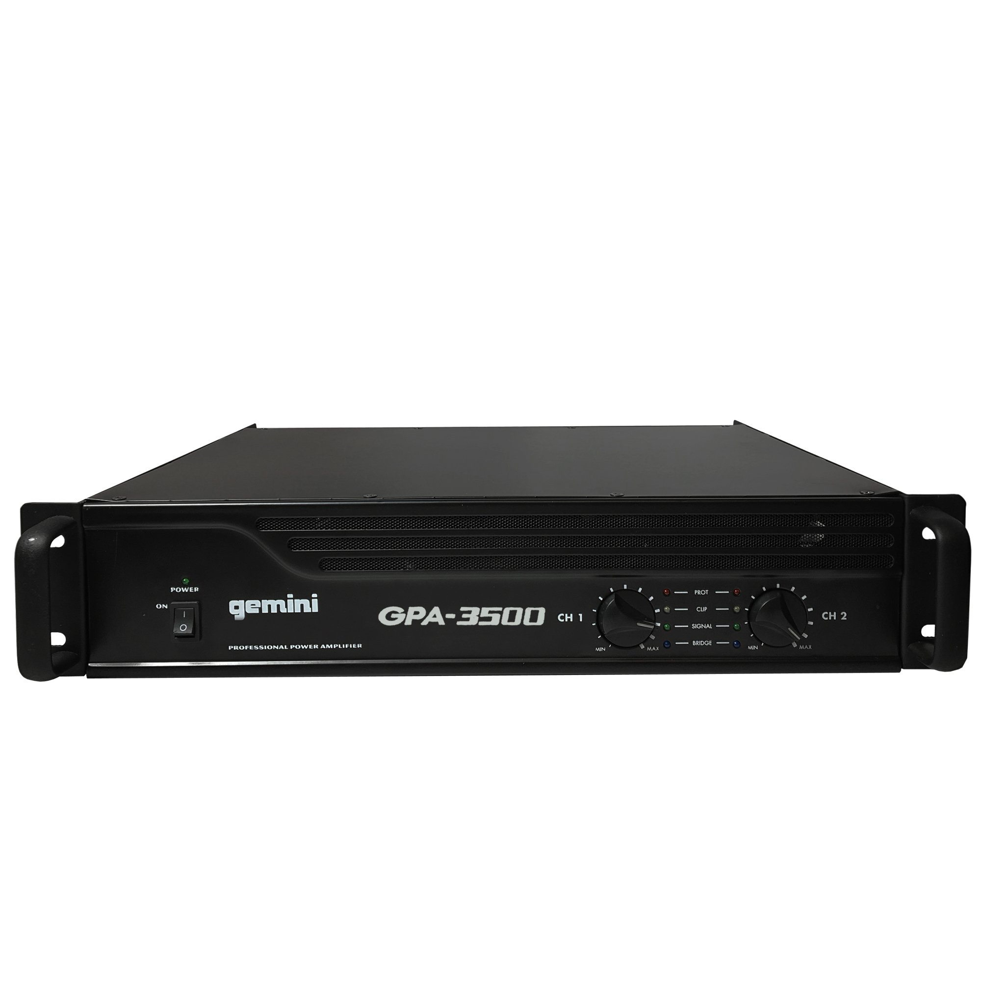 Gemini GPA-3500 3000W Professional DJ Power Amplifier