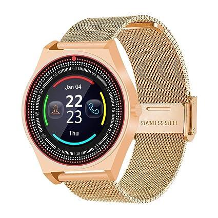 Sisaki Smartwatch, Reloj Inteligente Android con Ranura para Tarjeta SIM,Pulsera Actividad Inteligente para