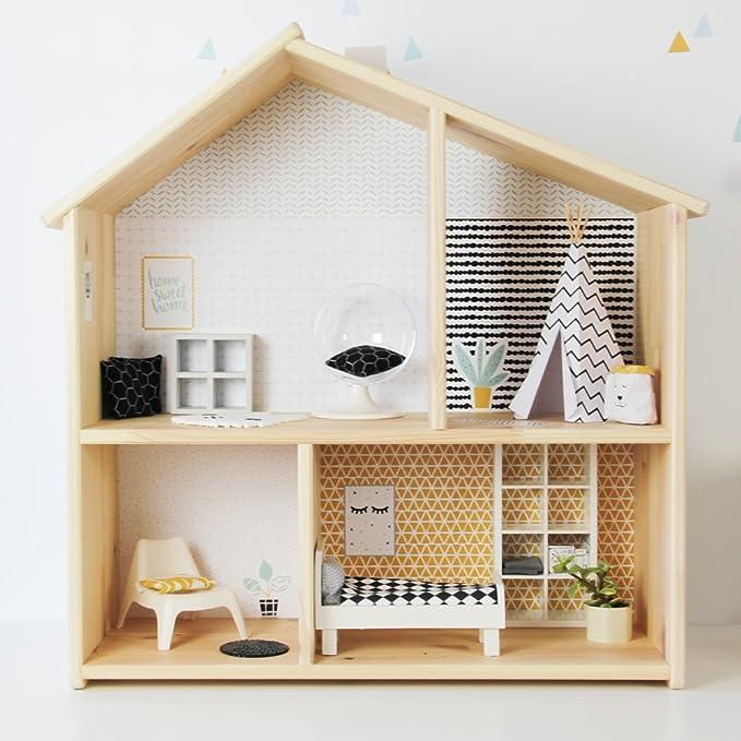 Amazon.es: Limmaland Pegatinas para IKEA flisat Casa de ...
