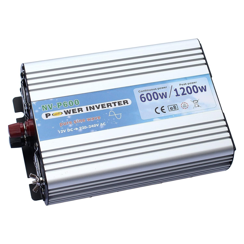 600w Pure Sine Wave Power Inverter 12v Dc To 240v Ac Electronics