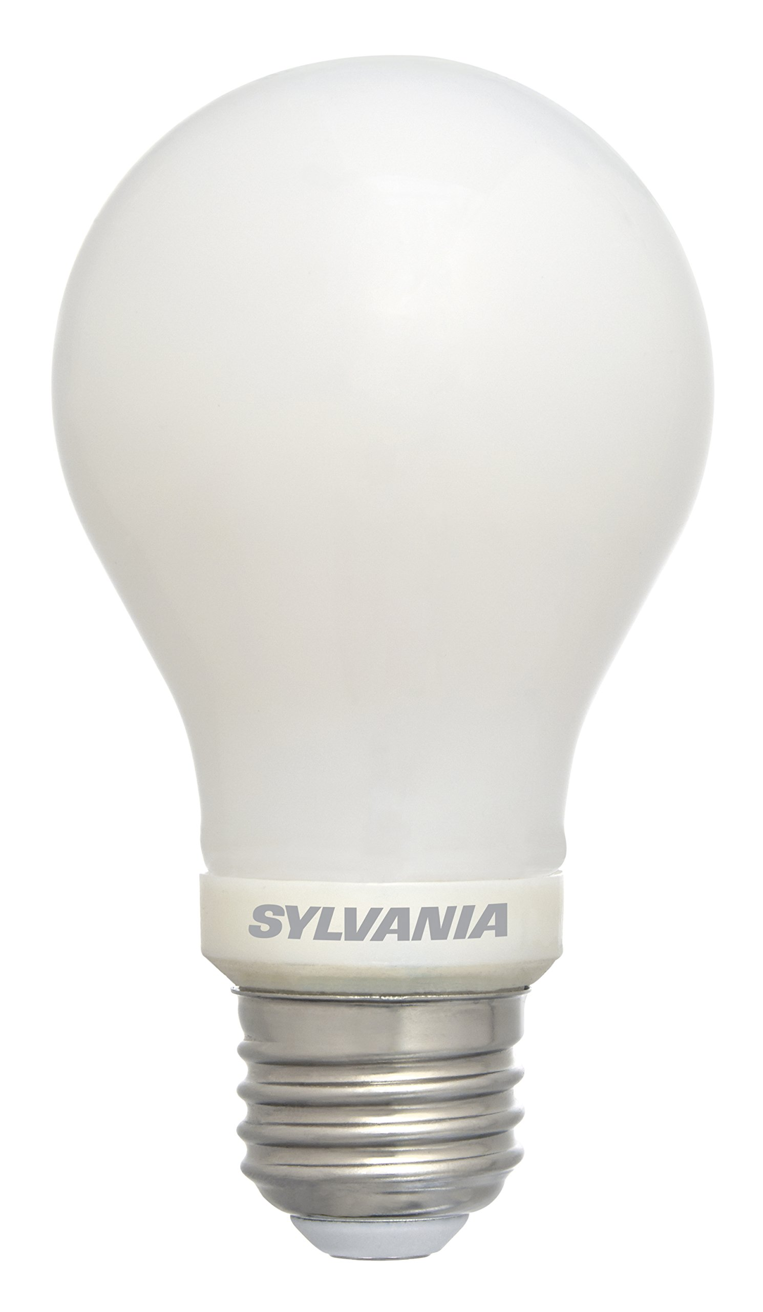 Sylvania 60 Watt Equivalent, A19 LED Light Bulbs, Non-Dimmable, Daylight Color 5000K, Made in The USA with US and Global Parts, 4 Pack